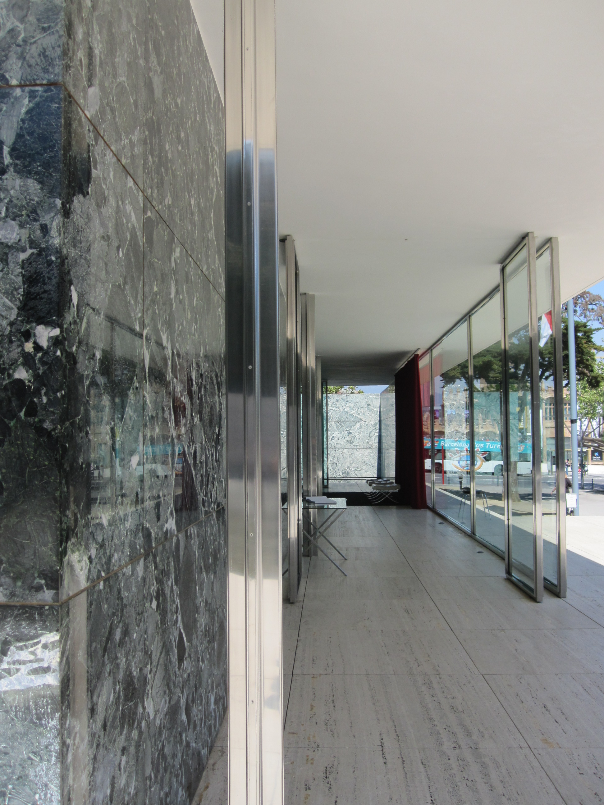 Barcelona Pavilion First Bar